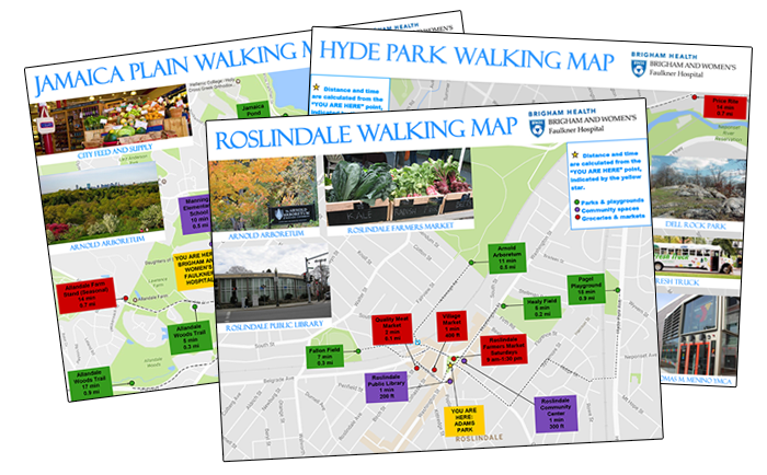 image of walking maps