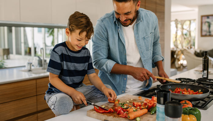 This Family Wellness Month make dinner fun!