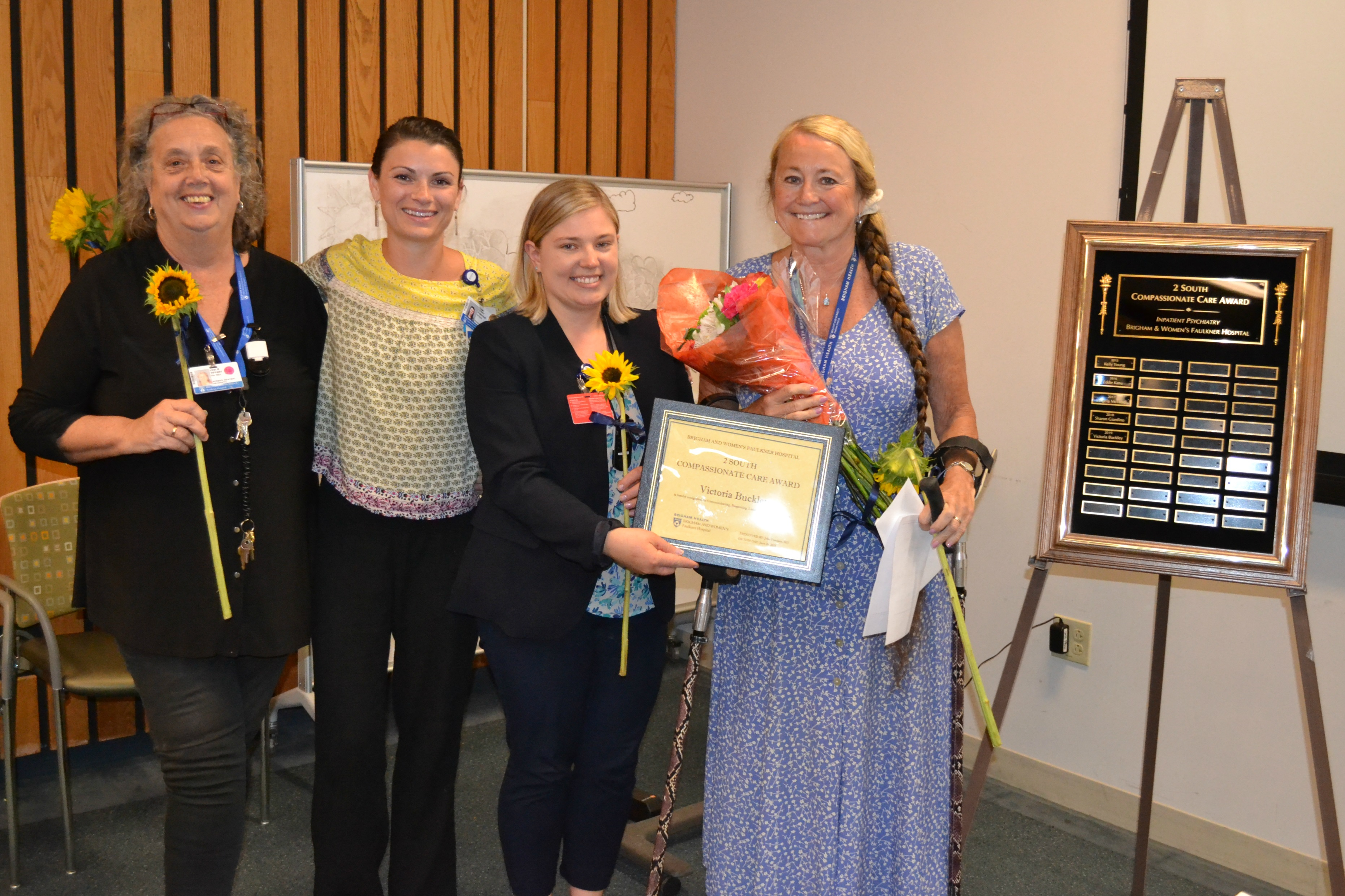 Occupational therapist receives Compassionate Care Award
