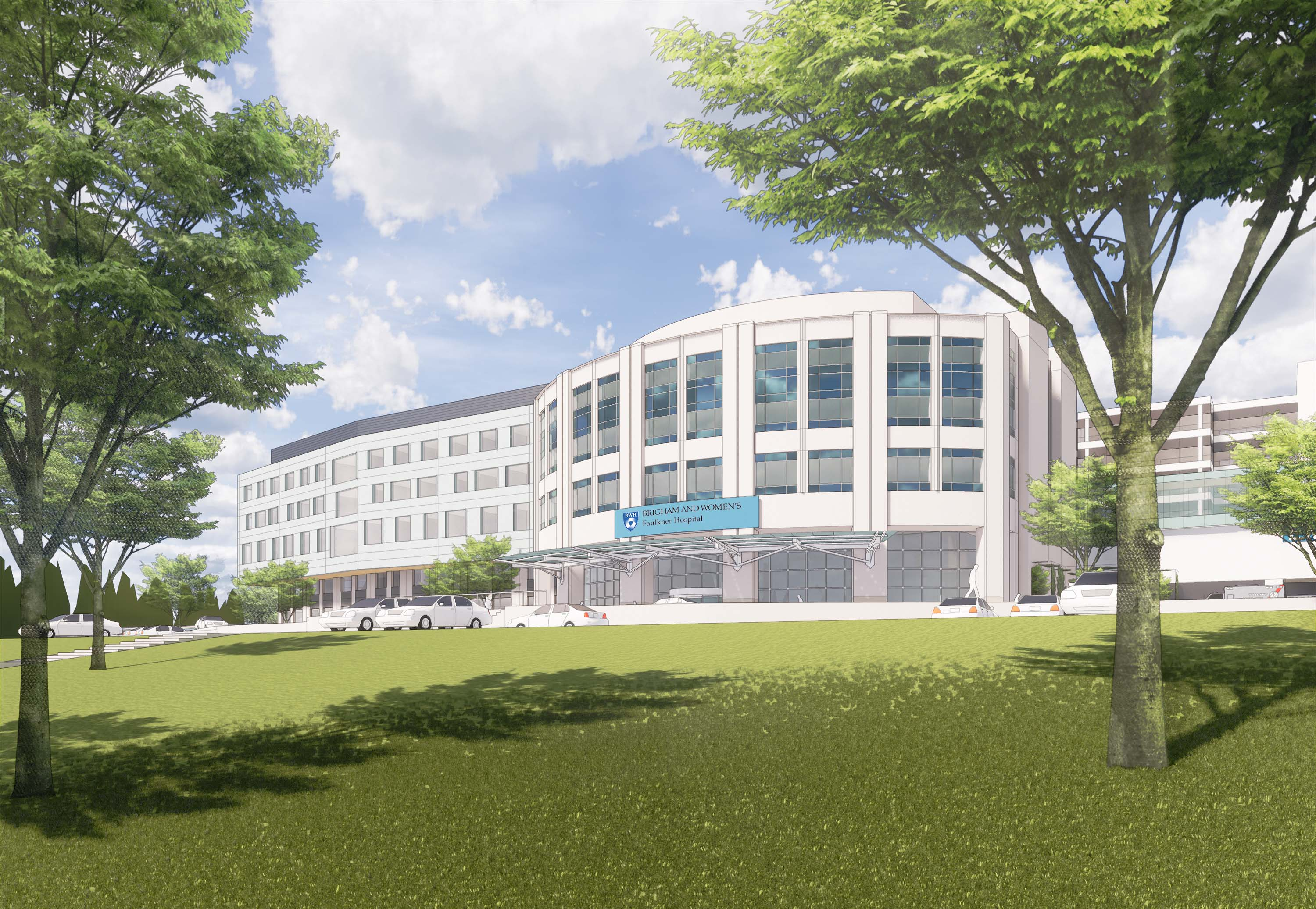 Campus Expansion Rendering