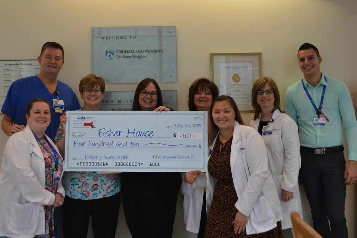 BWFH nurses raise funds for Fisher House