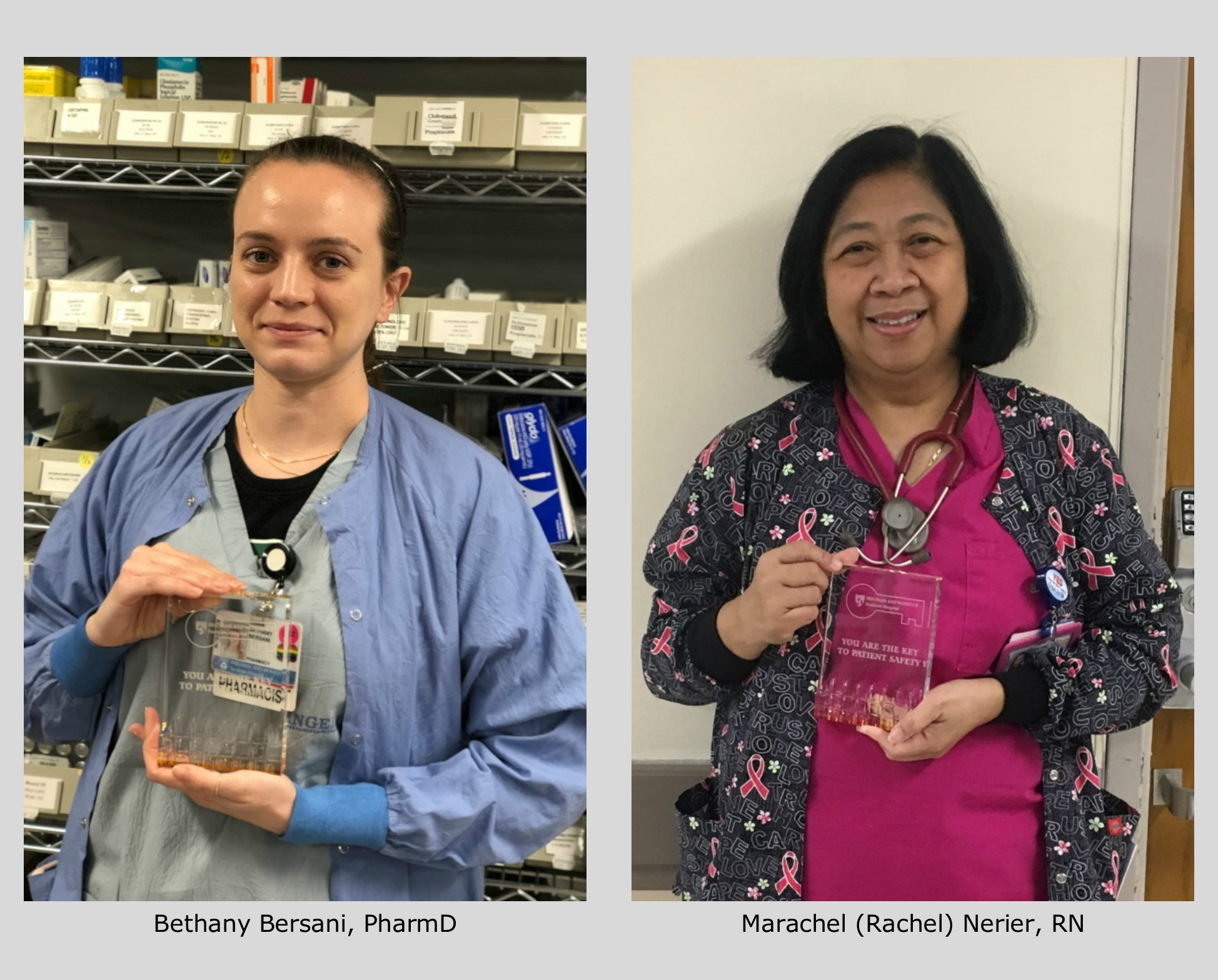 Spring 2019 Patient Safety Award Winners